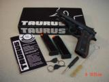 TAURUS PT101AF .40S&W ADJ.SIGHTS & TWO MAGAZINES