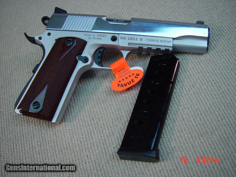 GIRSAN MC 1911 S White G2 45acp for sale