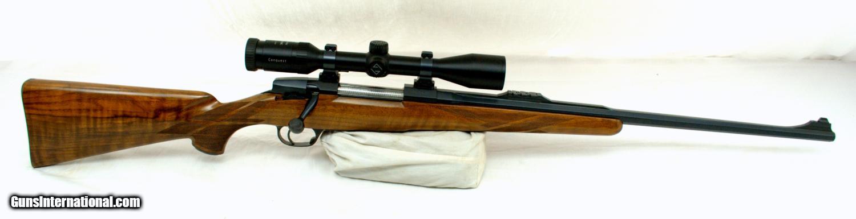 champlin haskins magazine rifle with scope cal 7 x 57