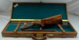 BERETTA 450 EELL SIDELOCK EJECTOR GAME GUN 12ga W EXTRA BARRELS + Case