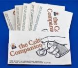 The Colt Companion instruction manual, Part NO. 94866