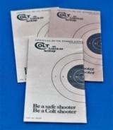 Colt Handling the Handgun booklet part no. 90024 - 2 of 2