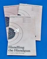 Colt Handling the Handgun booklet part no. 90024