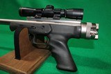 Used Magnum Research Lone Eagle 7mm-08 pistol with Leupold M8-4X EER Scope - 8 of 10