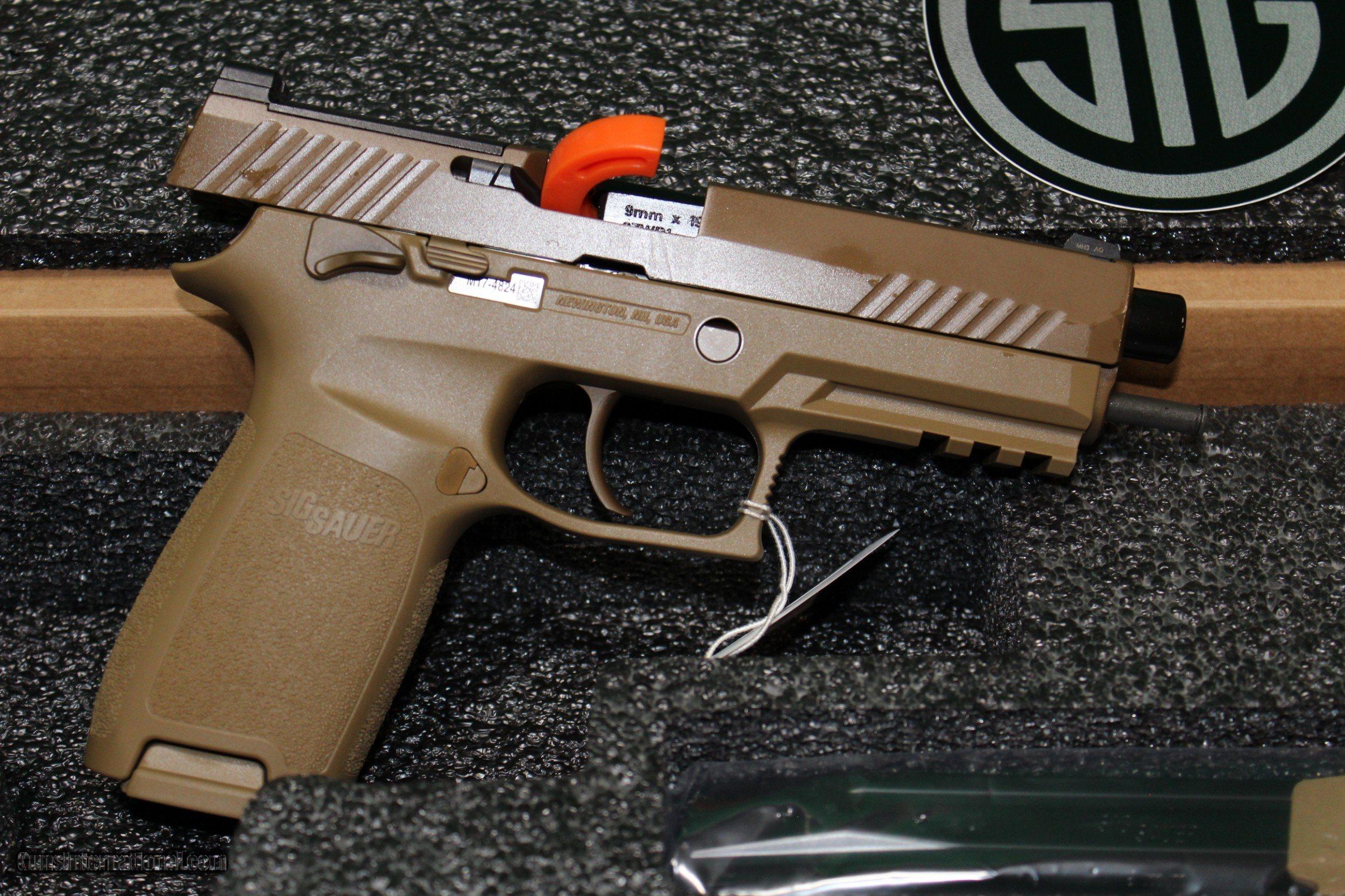 Sig Sauer M17 Commemorative NIB 9mm Luger Limited Edition