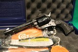 Consecutive Pair of Colt Single Action Army Case Hardened 45 Colt Revolvers (P1850) - 3 of 9