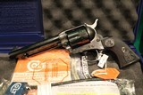 Consecutive Pair of Colt Single Action Army Case Hardened 45 Colt Revolvers (P1850) - 2 of 9