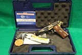 Colt 1911 O2991GS Lew Horton Exclusive Gold and Silver Engraving