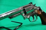 Smith and Wesson 19-4 .357 Magnum 6 Inch Nickel Revolver USED - 10 of 11