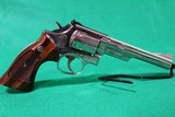 Smith and Wesson 19-4 .357 Magnum 6 Inch Nickel Revolver USED - 1 of 11