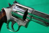 Smith and Wesson 19-4 .357 Magnum 6 Inch Nickel Revolver USED - 4 of 11