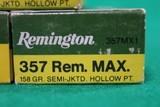 Remington .357 Remington Maximum 158 Grain Semi-Jacketed Hollow Point