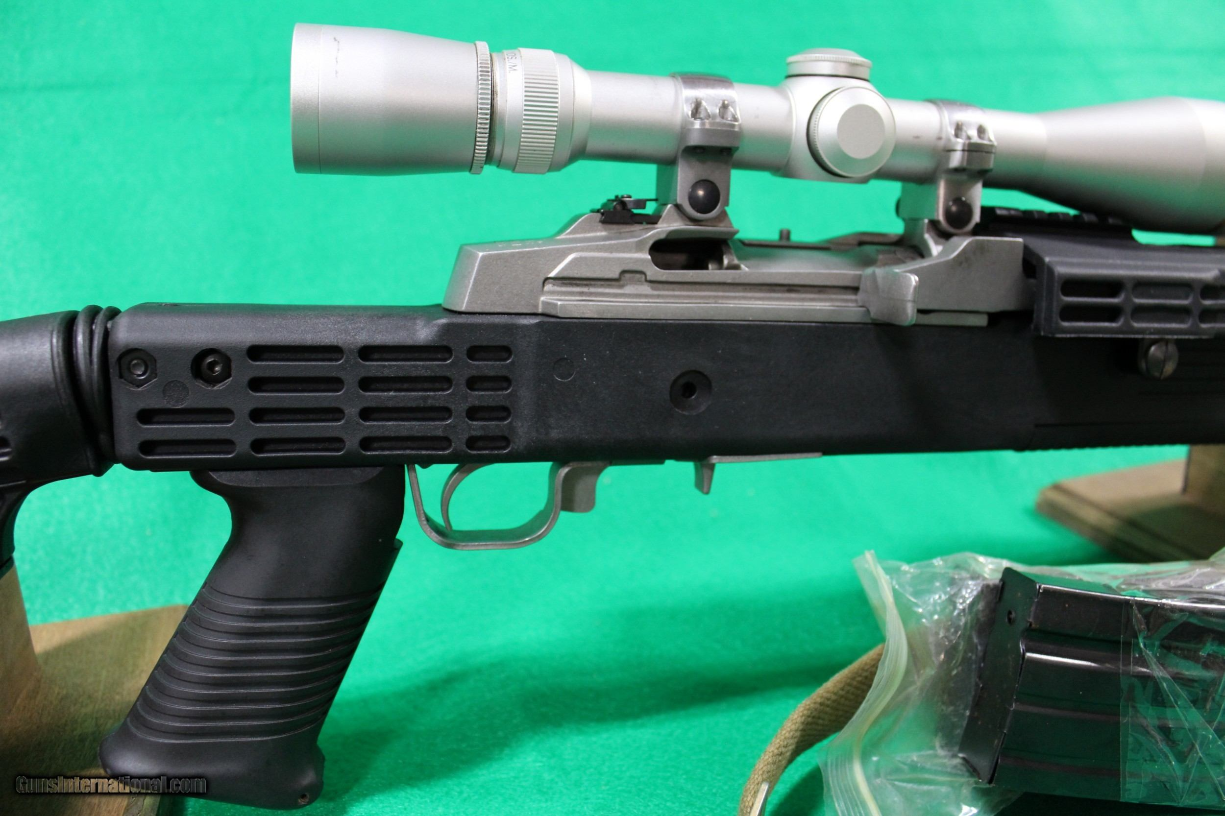Used Ruger Mini-14 with Leupold Scope in Collapsible Tactical Stock