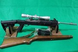 Used Ruger Mini-14 with Leupold Scope and 2 Stocks (Tactical Collapsible and factory wood)