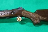 Winchester Model 75 Rifle with Engraved Wood - 8 of 15