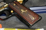 Engraved Colt 1991 (Model # O1991ZGSW).45 ACP NEW IN BOX EXCLUSIVE - 5 of 10