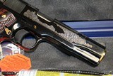 Engraved Colt 1991 (Model # O1991ZGSW).45 ACP NEW IN BOX EXCLUSIVE - 8 of 10