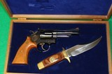 Smith & Wesson Texas Ranger Commemorative 19-3 With Bowie New In Box - 1 of 8