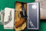 Smith & Wesson Texas Ranger Commemorative 19-3 With Bowie New In Box - 7 of 8