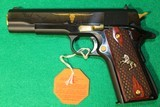 Colt 1911 Series 70 .45 acp Limited Edition TEXAS LONGHORN New In Box