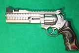 """NIGHTHAWK CUSTOM KORTH SUPER SPORT STX .357 MAGNUM SILVER PISTOL - 6"""""""