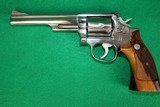 Smith & Wesson Model 66-2 .357 Magnum Stainless