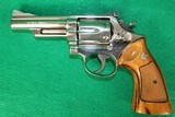 Smith & Wesson Model 19-3 Nickel .357 Magnum Revolver