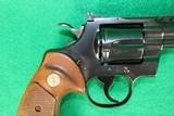 """Colt Python Blued 4"""" Barrel MFG: 1974 - 4 of 5"""