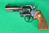 """Colt Python Blued 4"""" Barrel MFG: 1974"""