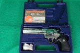 Colt Python 357 Magnum Stainless With Box and Paperwork