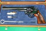 Smith & Wesson Model 25-5 .45Colt Revolver W/ Wood Case