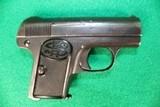 C.G. Suel 6MM / .25 ACP Compact Pistol Germany WWII Era
