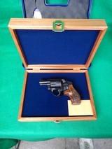 S&W Engraved Model 442-1 W/ Presentation Case New .38SPL - 2 of 5