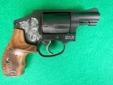 S&W Engraved Model 442-1 W/ Presentation Case New .38SPL - 4 of 5