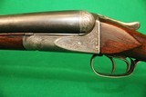 Ansley H. Fox A Grade Engraved 12 GA SXS Shotgun - 5 of 15
