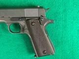 Colt / Remington Rand M1911-A1 .45 ACP Pistol MFG.1945 - 7 of 10
