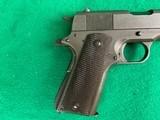 Colt / Remington Rand M1911-A1 .45 ACP Pistol MFG.1945 - 4 of 10