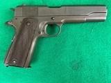 Colt / Remington Rand M1911-A1 .45 ACP Pistol MFG.1945 - 2 of 10