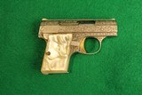 Browning Engraved Baby Browning 6.35MM Pistol - 2 of 6