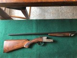 "Ithaca Western SS double barrel .410 shotgun with 26"" Long Range barrels, professionaly refinished stock"