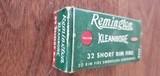 Full Box of 32 Rimfire Remington Kleanbore
