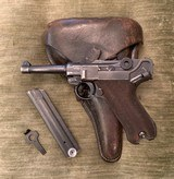 G Dated Luger w/Matching G Dated Holster!!