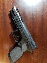 "Grand Power X-Calibur Single/Double Action 9mm Luger 5"" 15+1 Black Polymer Grip Black"
