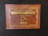 SOLD !!! SKB 385 DU 2 BARREL SET 20GA/28GA NEW IN MAKERS CASE ONE OF 200 - 16 of 25