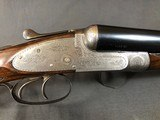 SOLD !!! CHARLES BOSWELL SIDELOCK EJECTOR 12GA CASED - 9 of 23