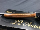 SOLD !!! BROWNING 22 AUTO GRADE 1 EXCELLENT WITH BOX - 5 of 17
