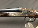SALE PENDING !!! ARRIETA 20GA SIDELOCK ROUND BODY WITH BOSS STYLE ENGRAVING EXCELLENT! - 1 of 22