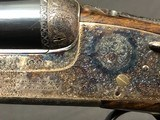 SALE PENDING !!! ARRIETA 20GA SIDELOCK ROUND BODY WITH BOSS STYLE ENGRAVING EXCELLENT! - 2 of 22