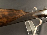 SALE PENDING !!! ARRIETA 20GA SIDELOCK ROUND BODY WITH BOSS STYLE ENGRAVING EXCELLENT! - 8 of 22