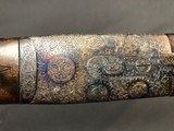 SALE PENDING !!! ARRIETA 20GA SIDELOCK ROUND BODY WITH BOSS STYLE ENGRAVING EXCELLENT! - 14 of 22